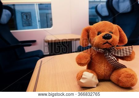 The Exciting Journey Of A Cuddly Toy From Stuttgart To Frankfurt