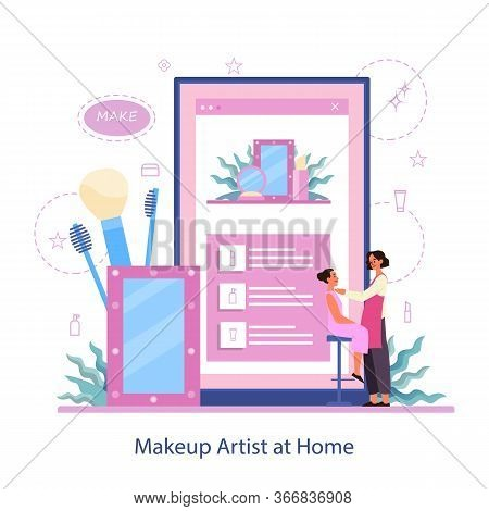 Make Up Online Service. Home Based Make Up Artist. Visagiste