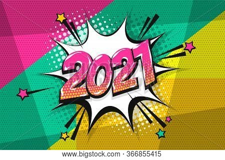 2021 Happy New Year Vector & Photo (Free Trial) | Bigstock