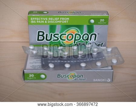 Buscopan Ibs Relief Pills In London