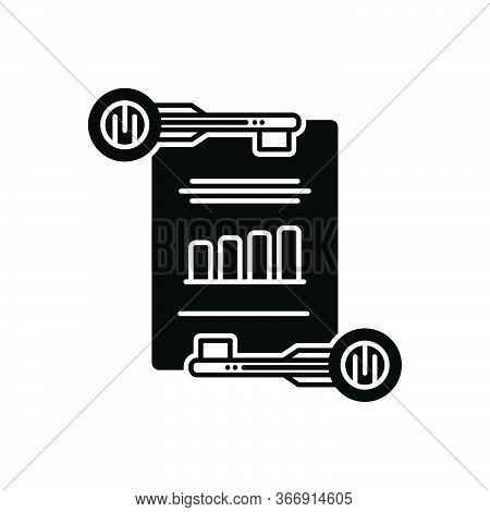 Black Solid Icon For Effective-keywording Effective Keywording Management