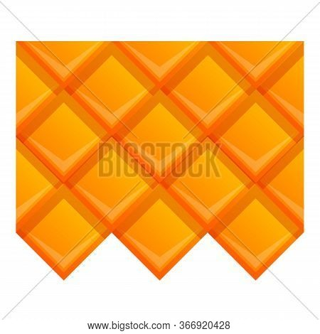 Property Roof Icon. Cartoon Of Property Roof Vector Icon For Web Design Isolated On White Background