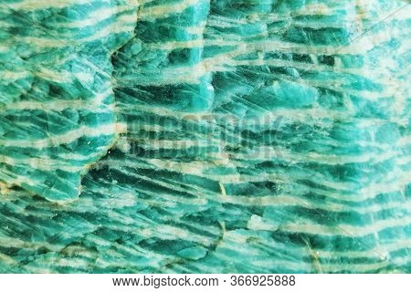 Amazonite Mineral Texture As Very Nice Natural Background