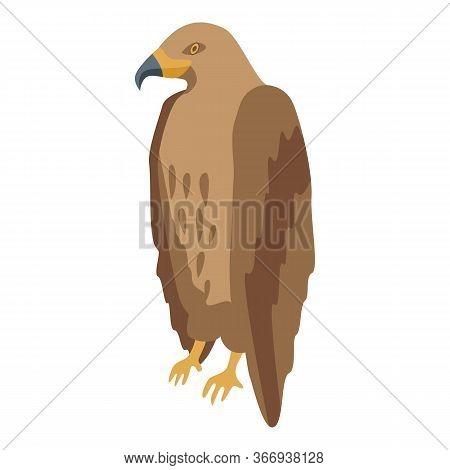 Phoenix Eagle Icon. Isometric Of Phoenix Eagle Vector Icon For Web Design Isolated On White Backgrou