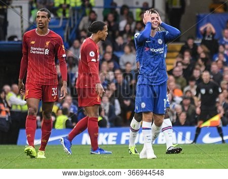 London, England - September 22, 2019: Mason Tony Mount Of Chelsea Pictured During The 2019/20 Premie