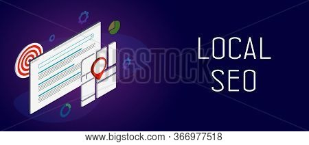 Local Seo - Search Results Regarding Your Location, Displaying Local Stores And Services Near You. M