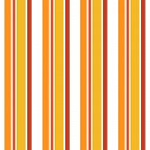 Vertical stripes pattern in orange brown and white colors poster