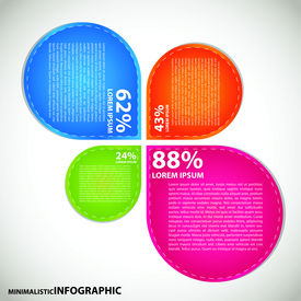 Mini info graphics.