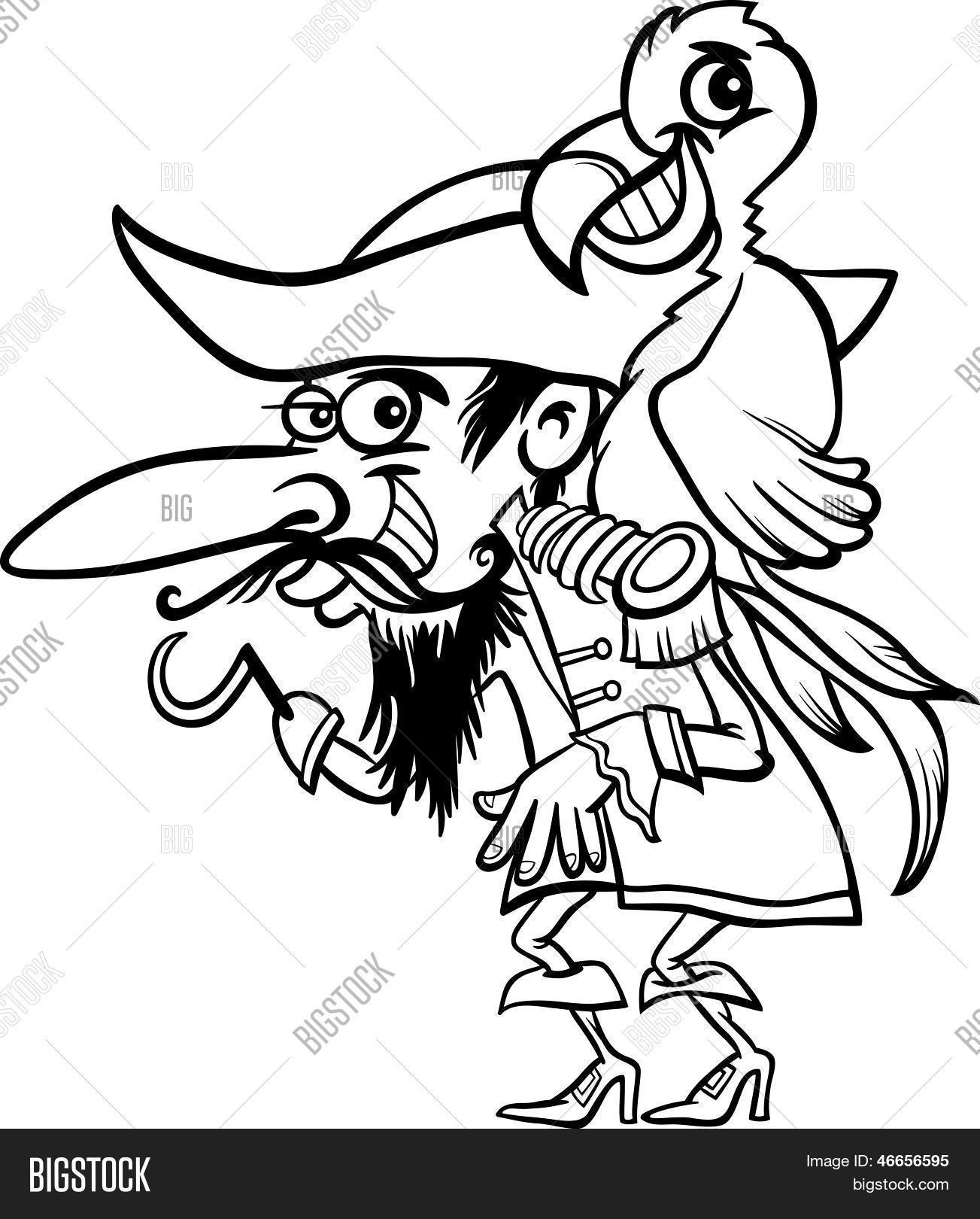 Vector y foto Pirata Con Loro (prueba gratis) | Bigstock