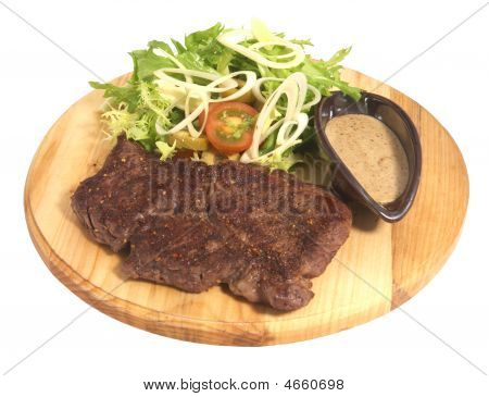 Beef On Plate