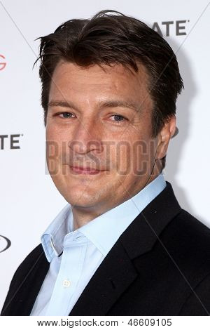 LOS ANGELES - JUN 5:  Nathan Fillion arrives at the