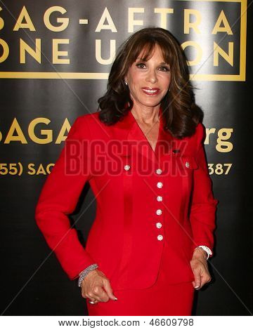 LOS ANGELES - JUN 4:  Kate Linder arrives at SAG-AFTRA Panel Discussion With The Cast Of
