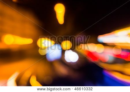 Approximation Of Abstract Blur Of Lighting