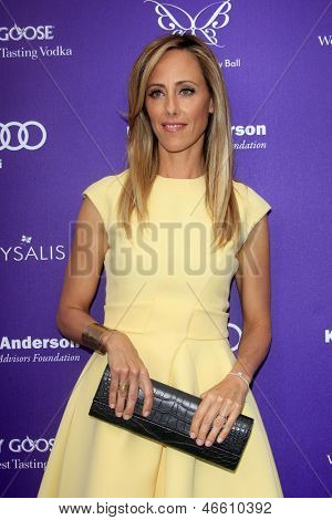 LOS ANGELES - JUN 8:  Kim Raver arrives at the 12th Annual Chrysalis Butterfly Ball at the Private Residence on June 8, 2013 in Los Angeles, CA