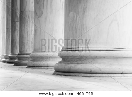 Marble Pillars