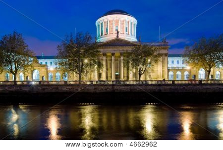 Four Courts By Night