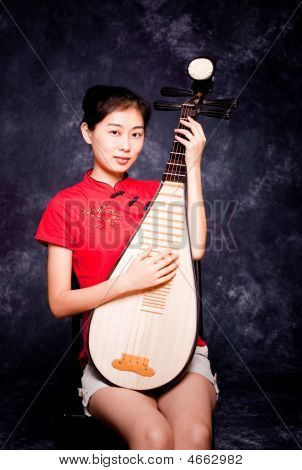 Chinese Lutanist