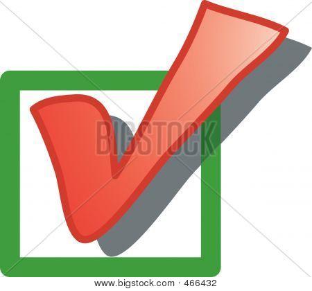 Das Kontrollkästchen Symbol