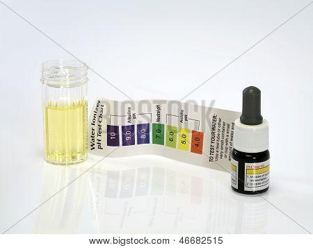 Acid acidic water test ph reagent