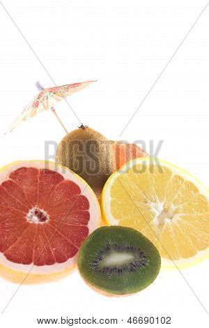 Grapefruit And Kiwi
