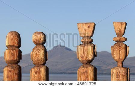 Statues In Bariloche