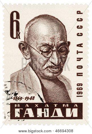 Mohandas Karamchand Gandhi Portrait