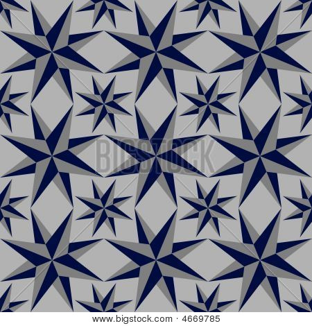 Seamless Background Of Geometric Shapes