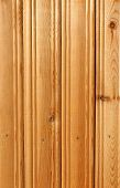 old yellow wooden planks with cracs on wall poster