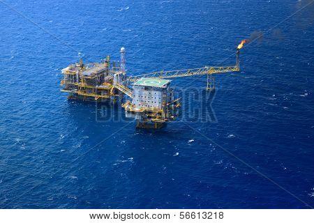 Offshore Oil Rig Platform