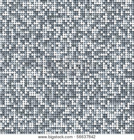 Fondo transparente brillo con paillettes plata y negros brillantes. Fondo de brillo brillo. GLIT