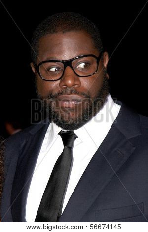 PALM SPRINGS - JAN 4:  Steve McQueen at the Palm Springs Film Festival Gala at Palm Springs Convention Center on January 4, 2014 in Palm Springs, CA