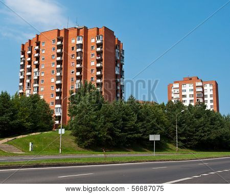 Typical Socialist Blocks of Flats