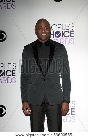 LOS ANGELES - JAN 8:  Wayne Brady at the People's Choice Awards 2014 - Press Room at Nokia at LA Live on January 8, 2014 in Los Angeles, CA