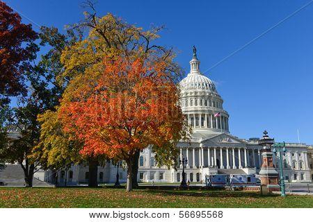 United States Capitol - Washington DC  poster