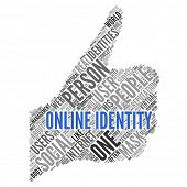 ONLINE IDENTITY | Concept Wallpaper poster
