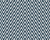 Thin Navy Blue and White Horizontal Chevron Striped Textured Fabric Background that is seamless and repeats poster