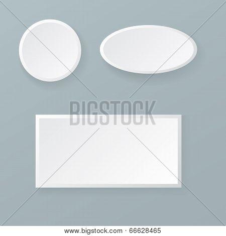 Geometric Shapes Banners