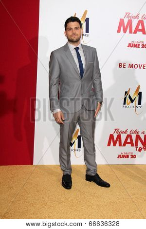 """LOS ANGELES - JUN 9:  Jerry Ferrara at the """"Think Like A Man Too"""" LA Premiere at TCL Chinese Theater on June 9, 2014 in Los Angeles, CA"""