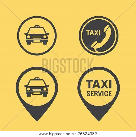 Taxi icons and Pointers