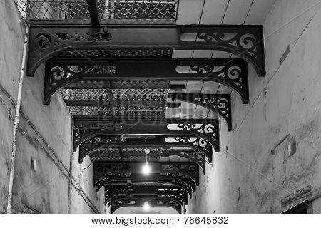 Corridor Black And White