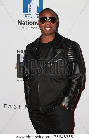 LOS ANGELES - NOV 19:  Doug E Fresh at the Ebony Power 100 Gala at the Avalon on November 19, 2014 in Los Angeles, CA