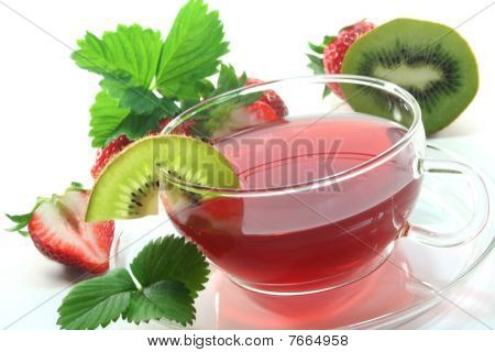 Strawberry Kiwi Tea