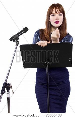 Seductive Presenter