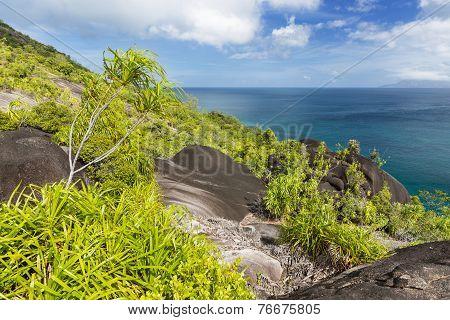 Mahe West Coast View, Seychelles