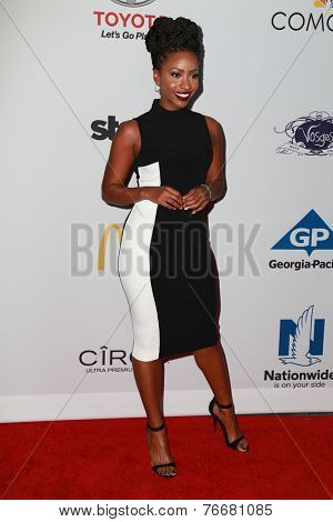 LOS ANGELES - NOV 19:  Teyonnah Parris at the Ebony Power 100 Gala at the Avalon on November 19, 2014 in Los Angeles, CA