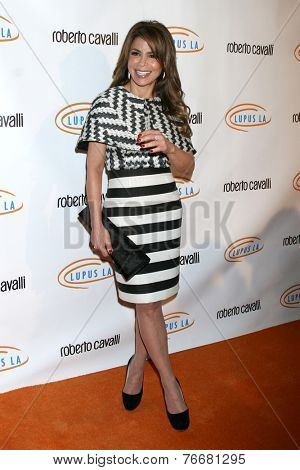 LOS ANGELES - NOV 21:  Paula Abdul at the Lupus LA Bag Ladies Luncheon at the Beverly Hilton Hotel on November 21, 2014 in Beverly Hills, CA