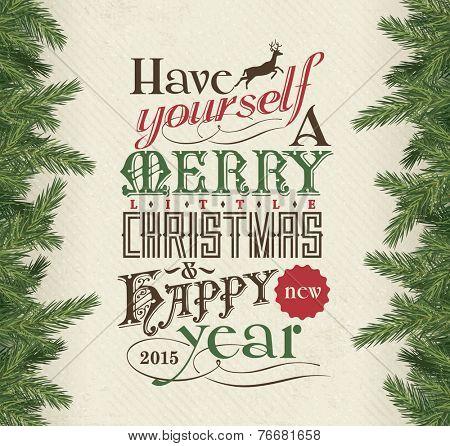 Merry Christmas & Happy New Year 2015