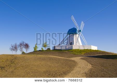 Old Style Wind Mill