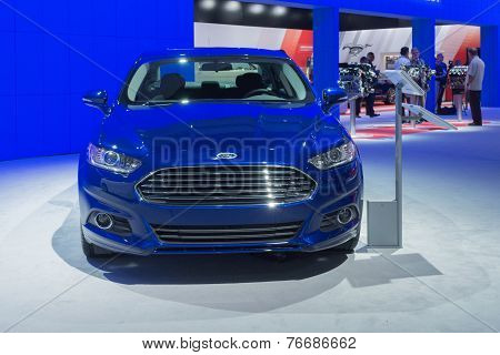 Ford Fusion 2015 On Display