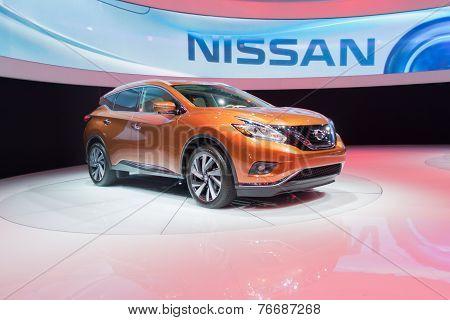 Nissan Murano Concept 2015 On Display